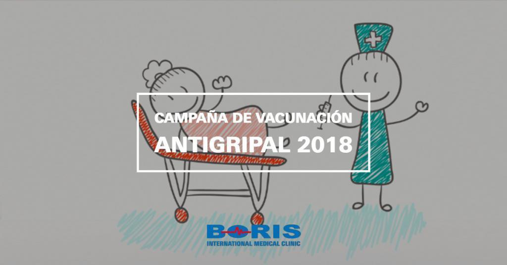 Campaña de vacunación antigripal 2018